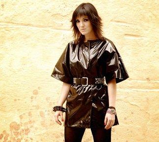 Imagem de Érika Martins na divulgação do seu primeiro disco solo, em 2009. Foto: Daryan Dornelles | Divulgação